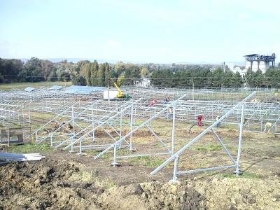 Projekt Photovoltaic power station Medlov
